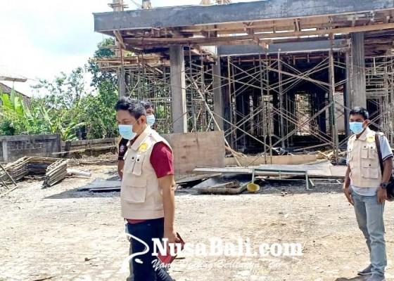 Nusabali.com - penyidik-tipikor-datangi-sejumlah-proyek-di-bangli