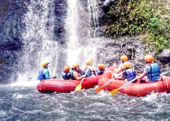 Nusabali.com - rafting-dibuka-kunjungan-rata-rata-10-wisatawan