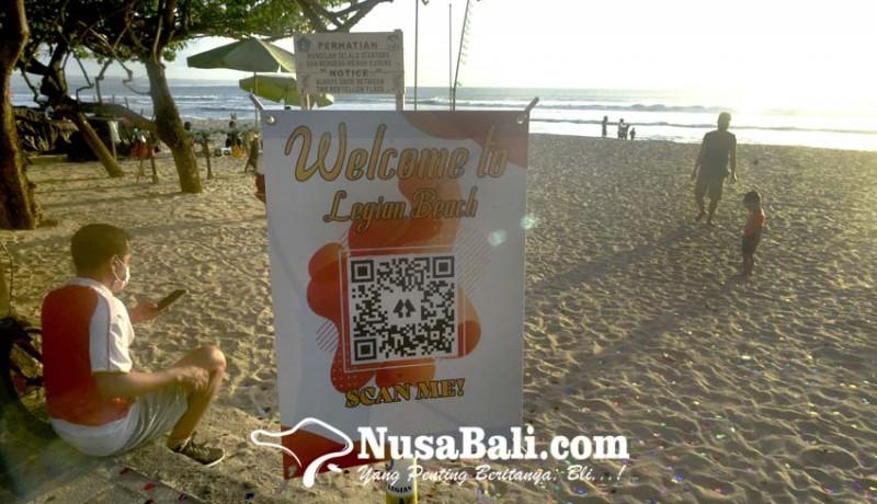 www.nusabali.com-cegah-penularan-covid-19-pengunjung-pantai-harus-berstatus-hijau