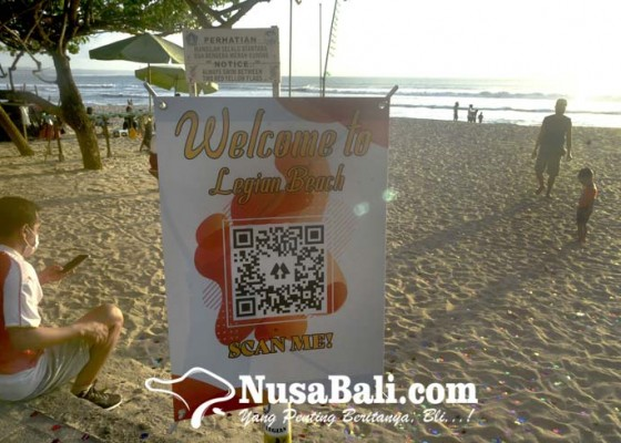 Nusabali.com - cegah-penularan-covid-19-pengunjung-pantai-harus-berstatus-hijau