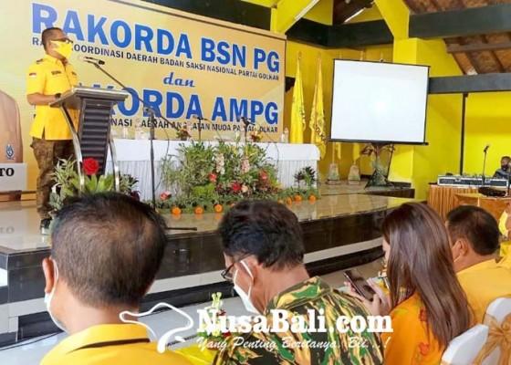 Nusabali.com - bsn-dpp-golkar-jadikan-bali-pilot-project-pelatihan-saksi