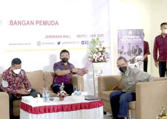 Nusabali.com - wabup-ipat-sarankan-mahasiswa-berorganisasi