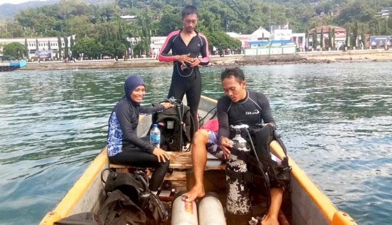 www.nusabali.com-tiga-atlet-bali-selami-laut-papua