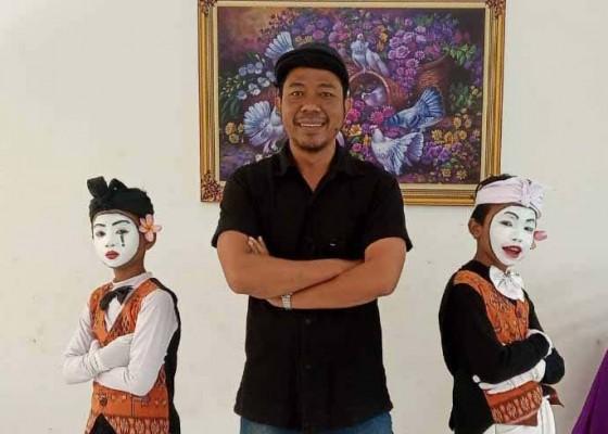 Nusabali.com - sdn-4-bukit-juara-iv-pantomim-fls2n-bali