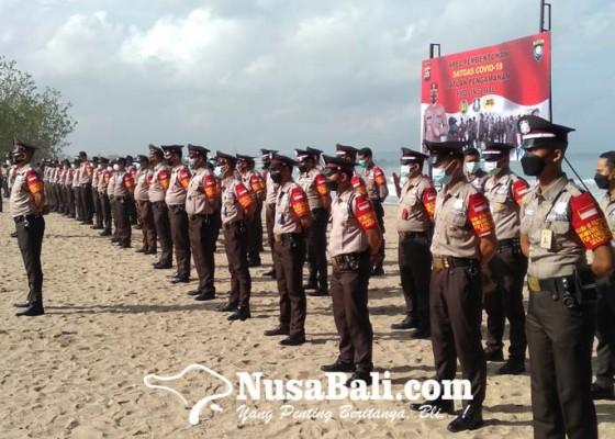 Nusabali.com - polda-bali-libatkan-satpam-awasi-pedulilindungi