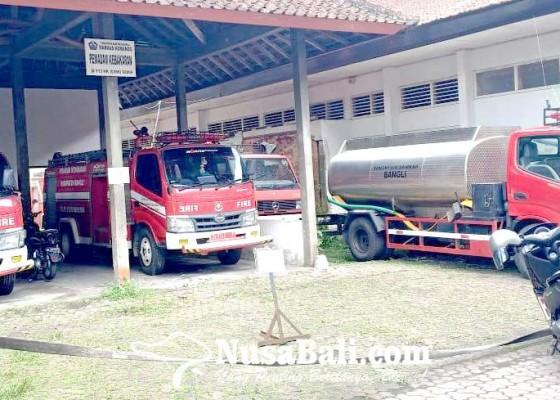 Nusabali.com - satpol-pp-dan-damkar-bangli-tambah-armada