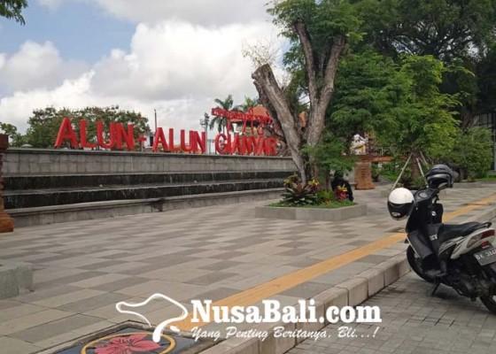 Nusabali.com - alun-alun-gianyar-buka-cfd-masih-off