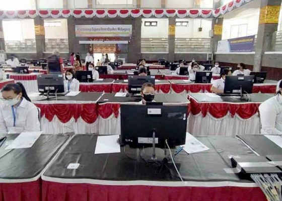 Nusabali.com - ombudsman-pantau-tes-skd-cpns-di-undiksha