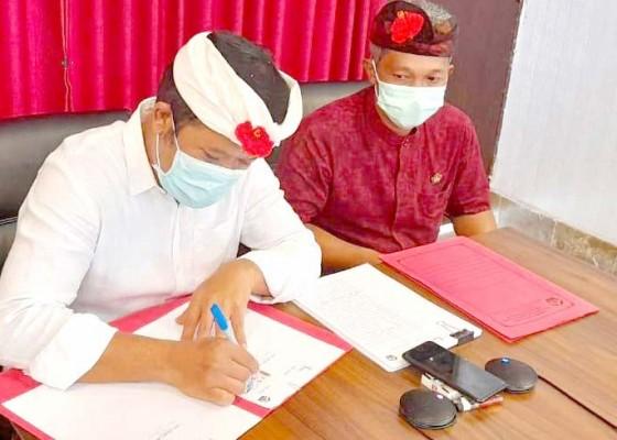 Nusabali.com - bupati-bangli-tandatangani-perjanjian-pinjaman-pen
