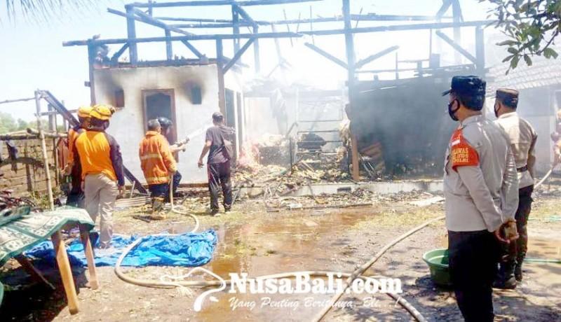 www.nusabali.com-ditinggal-sholat-jumat-bangunan-pondok-santri-terbakar