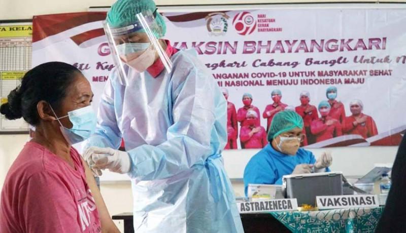 www.nusabali.com-polres-bangli-gelar-vaksinasi-di-desa-pengotan