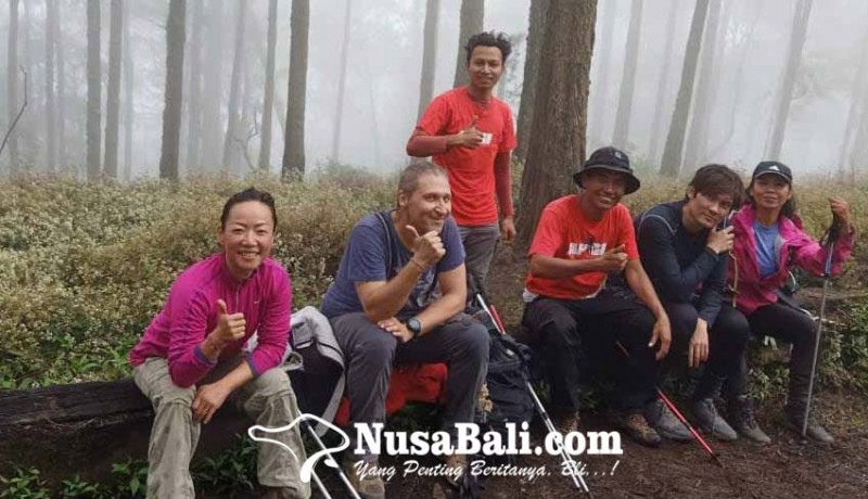 www.nusabali.com-pemandu-mulai-layani-pendaki-gunung-agung