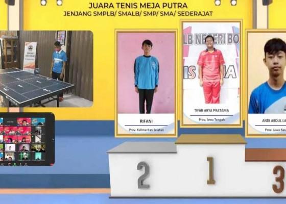 Nusabali.com - atlet-nasional-beri-semangat-siswa-berkebutuhan-khusus