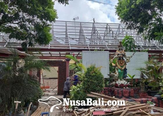 Nusabali.com - proyek-rehabilitasi-gedung-sekolah-disorot