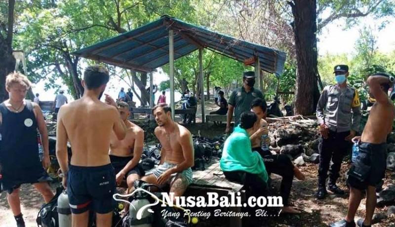 www.nusabali.com-wisman-mulai-ramai-diving-di-pantai-liberty
