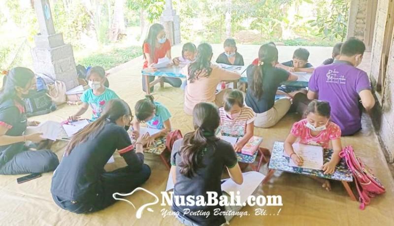 www.nusabali.com-tcg-bantu-siswa-di-desa-bebetin-belajar-matematika-dan-bahasa-inggris