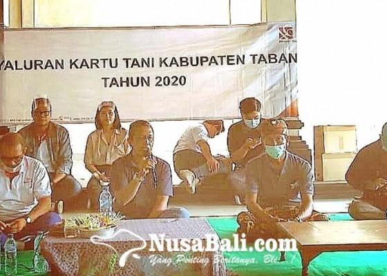 Nusabali.com - sempat-terhenti-distribusi-kartu-tani-akan-dilanjutkan