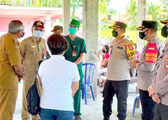Nusabali.com - 1649-orang-berhasil-divaksin-di-dua-kecamatan-di-tabanan