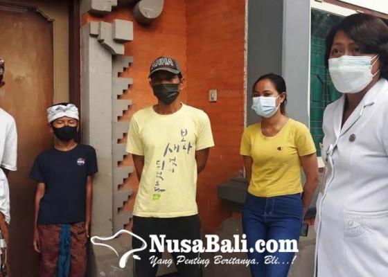 Nusabali.com - asal-karangasem-pengamen-maudeng-dijemput-keluarga
