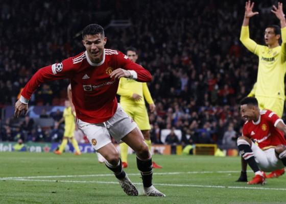 Nusabali.com - gol-telat-ronaldo-antar-kemenangan-manchester-united-atas-villareal
