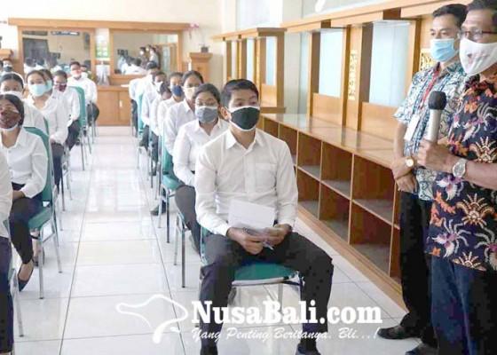 Nusabali.com - total-179-pelamar-absen-tes-cpns-karangasem