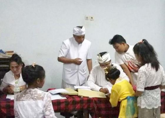 Nusabali.com - semarakkan-hari-saraswati-pasraman-kertajaya-gelar-lomba-keagamaan