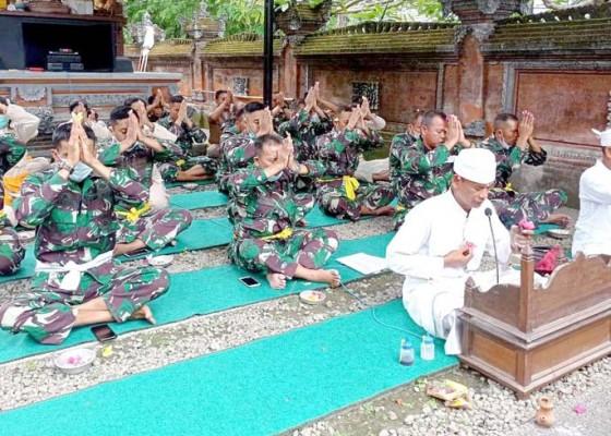 Nusabali.com - doa-bersama-perayaan-hut-ke-76-tni