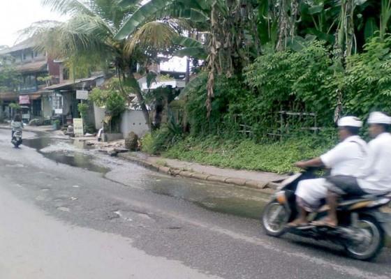 Nusabali.com - air-menggenang-langganan-di-musim-hujan