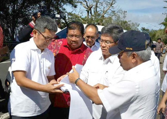 Nusabali.com - menteri-pupr-tinjau-lokasi-shortcut-titik-5-dan-6