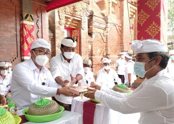 Nusabali.com - upacara-melaspas-palinggih-di-pura-dalem-tanjung-sari