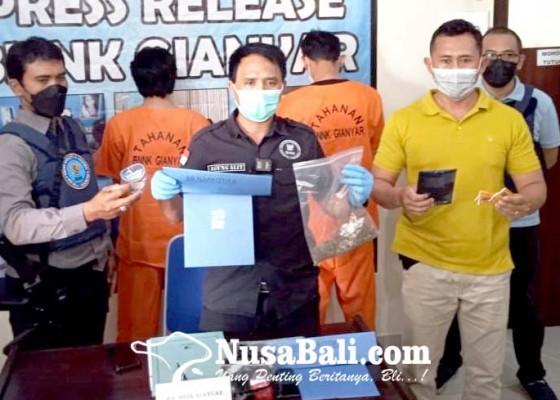 Nusabali.com - pesan-ganja-online-mantan-sopir-ditangkap
