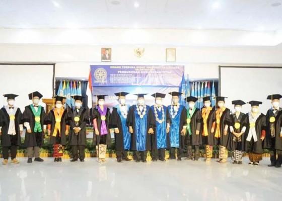 Nusabali.com - universitas-udayana-kukuhkan-14-guru-besar