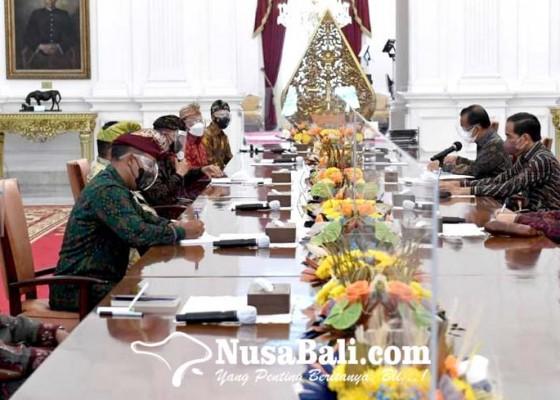 Nusabali.com - panitia-mahasabha-xii-phdi-audiensi-dengan-presiden-jokowi