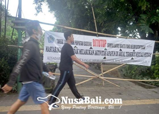 Nusabali.com - taman-dan-lapangan-umum-mulai-dibuka