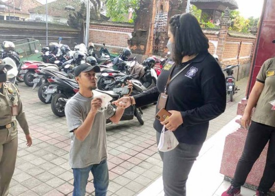 Nusabali.com - operasi-prokes-terus-digas-22-pelanggar-kembali-terjaring