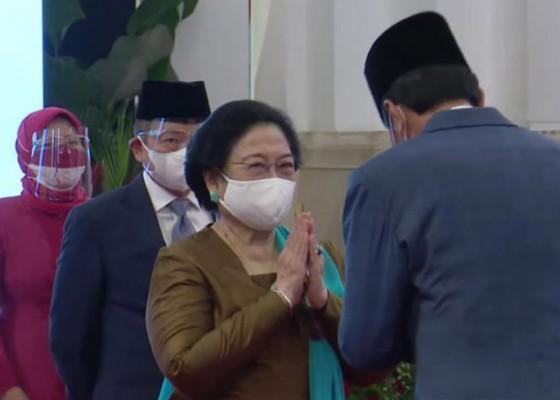 Nusabali.com - presiden-jokowi-lantik-megawati-sebagai-ketua-dewan-pengarah-brin
