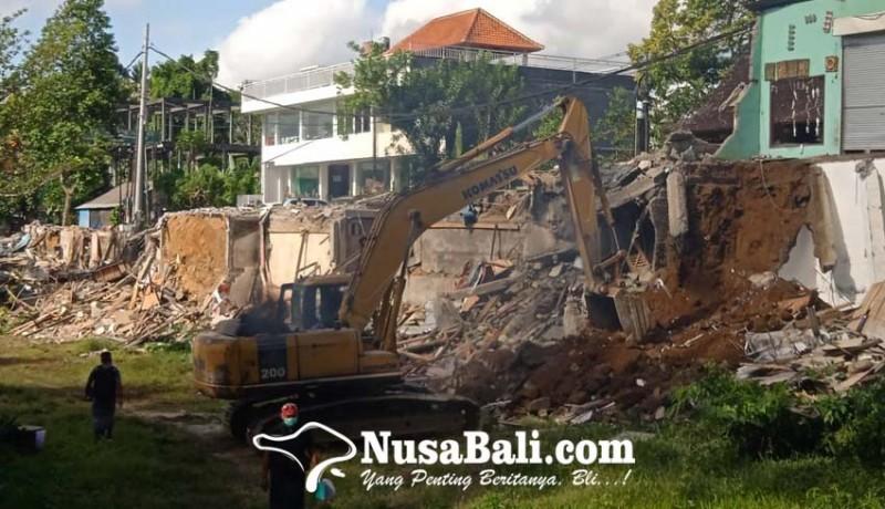www.nusabali.com-desa-adat-pakudui-ratakan-bangunan-di-tanah-sengketa-dengan-alat-berat