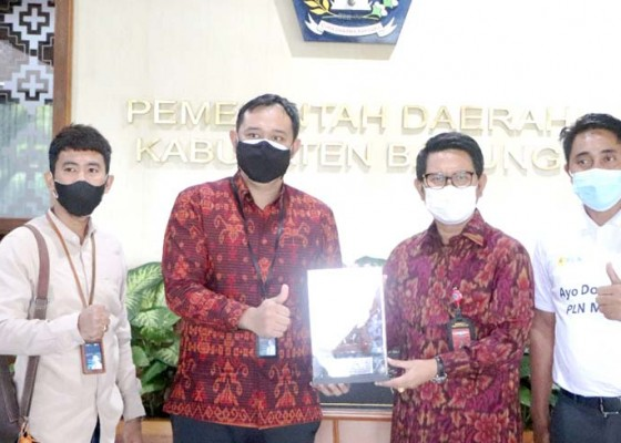 Nusabali.com - sekda-badung-adi-arnawa-terima-audiensi-pln-up3-bali-selatan