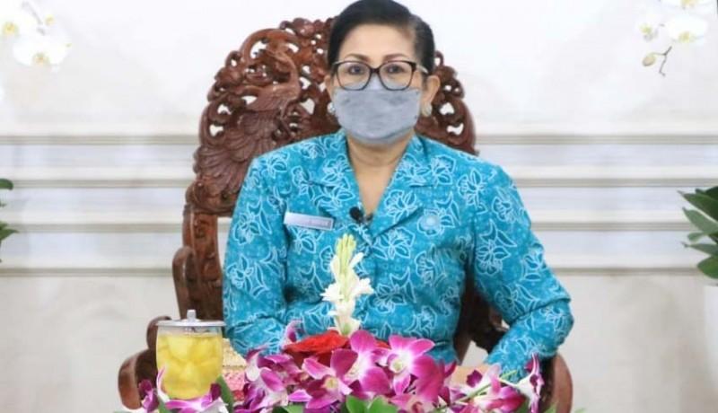 www.nusabali.com-putri-koster-dorong-kader-pkk-di-bali-tanggap-bencana