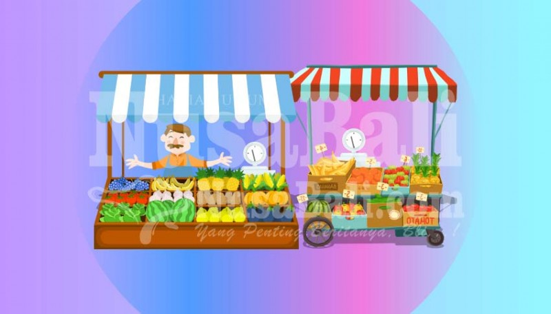 www.nusabali.com-ada-tempat-khusus-penjualan-buah-lokal-di-pasar-badung