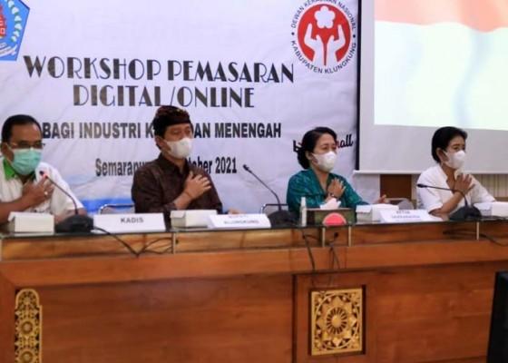 Nusabali.com - 15-ikm-klungkung-dilatih-pemasaran-online
