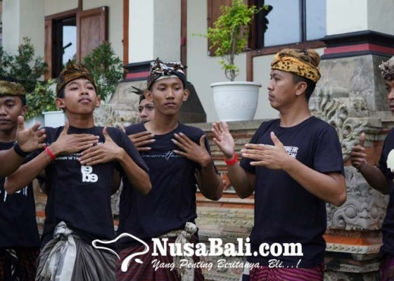 Nusabali.com - komunitas-sekuni-siapkan-cikung-cak-inovatif-klungkung