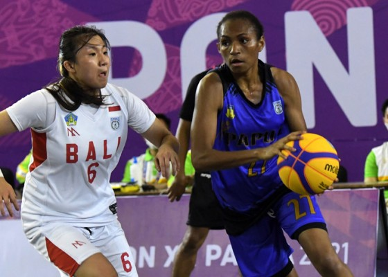 Nusabali.com - tim-basket-3x3-putri-bali-dapat-medali-perak