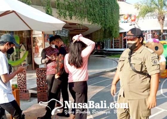 Nusabali.com - satpol-pp-pantau-sejumlah-objek-wisata