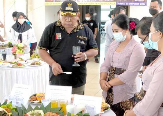 Nusabali.com - nasi-keladi-hingga-sayur-buangit-hiasi-lomba-cipta-menu-b2sa