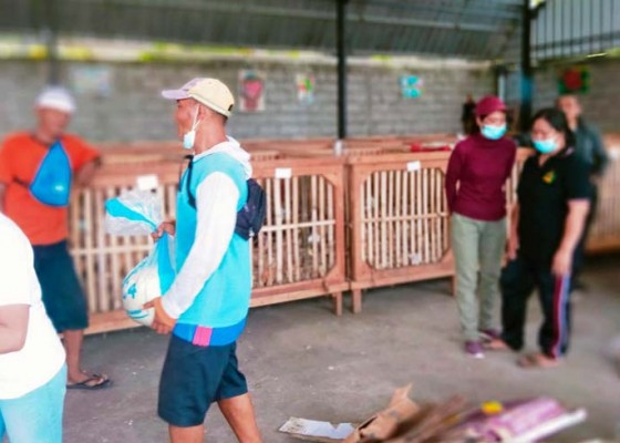 Nusabali.com - bank-sampah-sadu-desa-sumerta-kaja-eksis-saat-pandemi