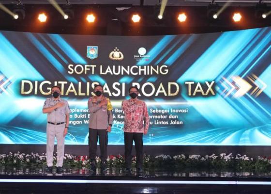 Nusabali.com - stiker-hologram-jadi-bukti-pembayaran-pajak-kendaraan