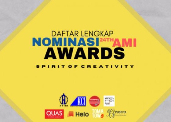 Nusabali.com - ami-awards-2021rilis-nominasi-pemenang-berikut-daftar-lengkapnya