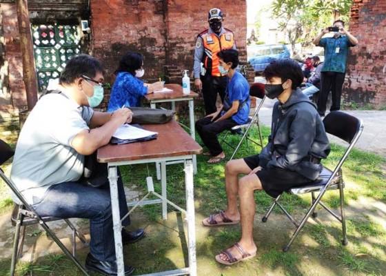 Nusabali.com - denpasar-ppkm-level-ii-pelanggar-masker-justru-naik