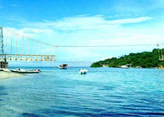Nusabali.com - pembangunan-jembatan-kuning-95-persen